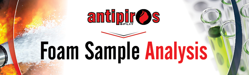 Antipiros FSR Department offers Foam Sample Analysis from any dispatch point in the world!