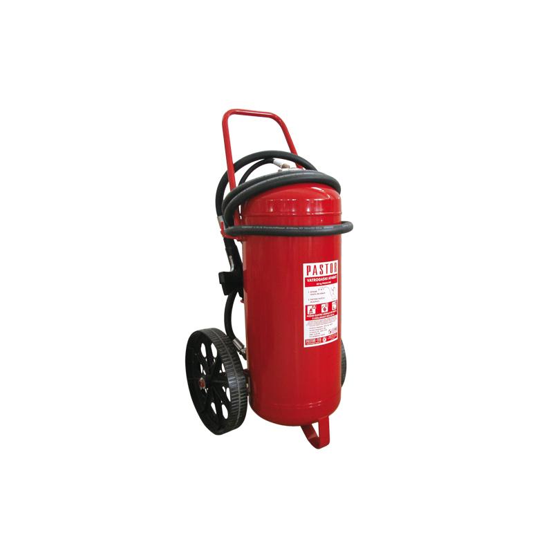 [20988] Pastor Fire Extinguisher Dry Powder with cartridge, Wheeled, 50kg image