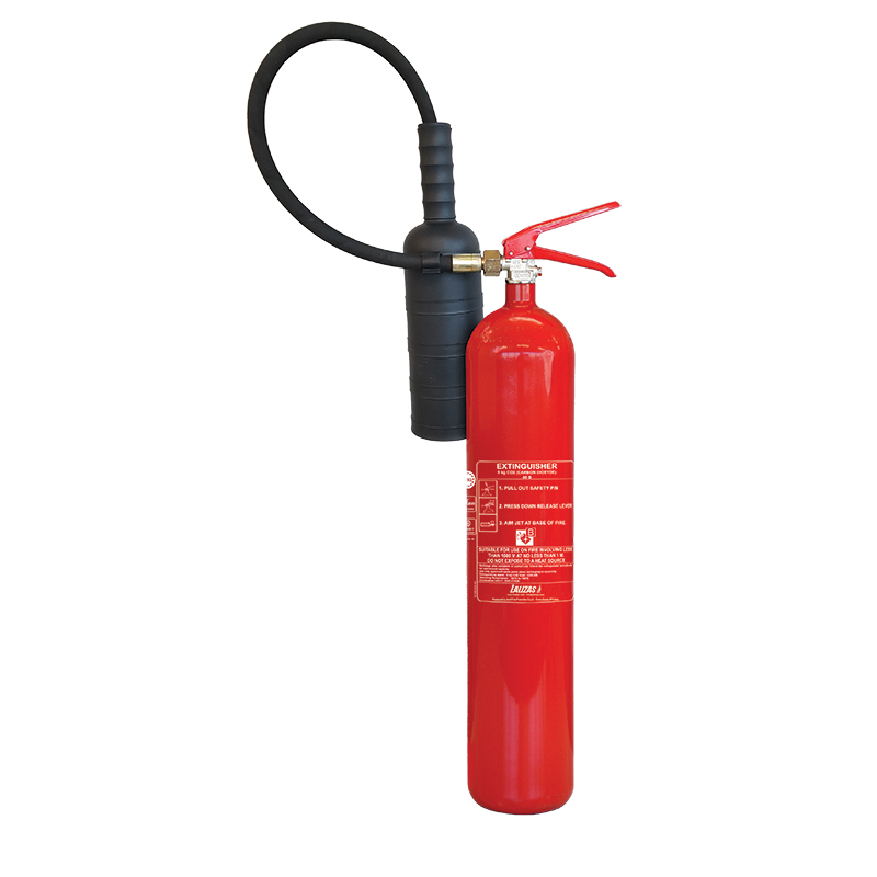 [499521] LALIZAS Fire Extinguisher CO25kg, w/wall bracket, MED (EN,IT,GR) image
