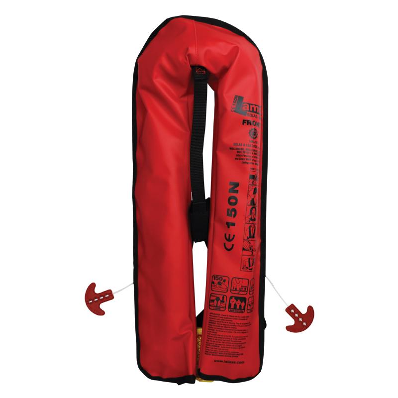 [71107] LALIZAS Inflatable Lifejacket Lamda Auto 150N, SOLAS/MED image