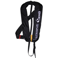 [72081] Sigma Infl.Lifejacket.Auto.Adult.170N,ISO 12402-3,w/D-ring & clip crotch strap,black image