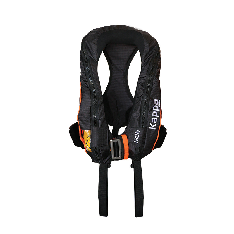 [72194] Kappa Infl.Lifejacket.Auto.Adult,180N,ISO 12402-3,Lalizas JS1,w/double crotch,w/ harness image