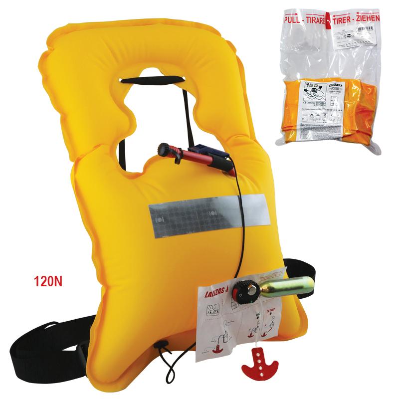 [72326] Vita Infl. Lifejacket Manual Adult 120N,ISO 12402-4 & ISO12402-6 image