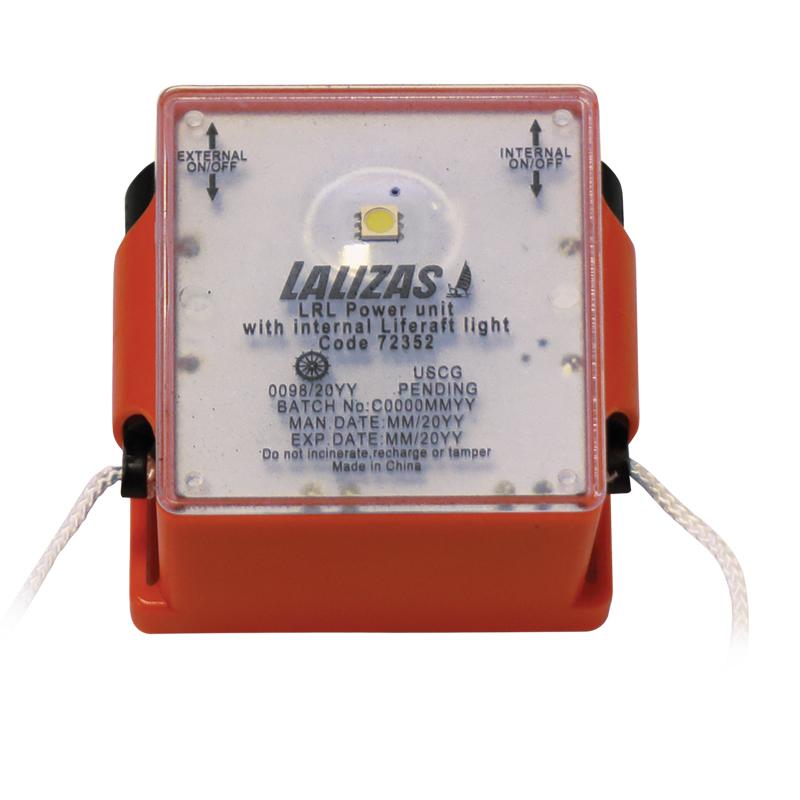 [72352] LALIZAS LRL Power unit with internal Liferaft light, SOLAS/MED/USCG image
