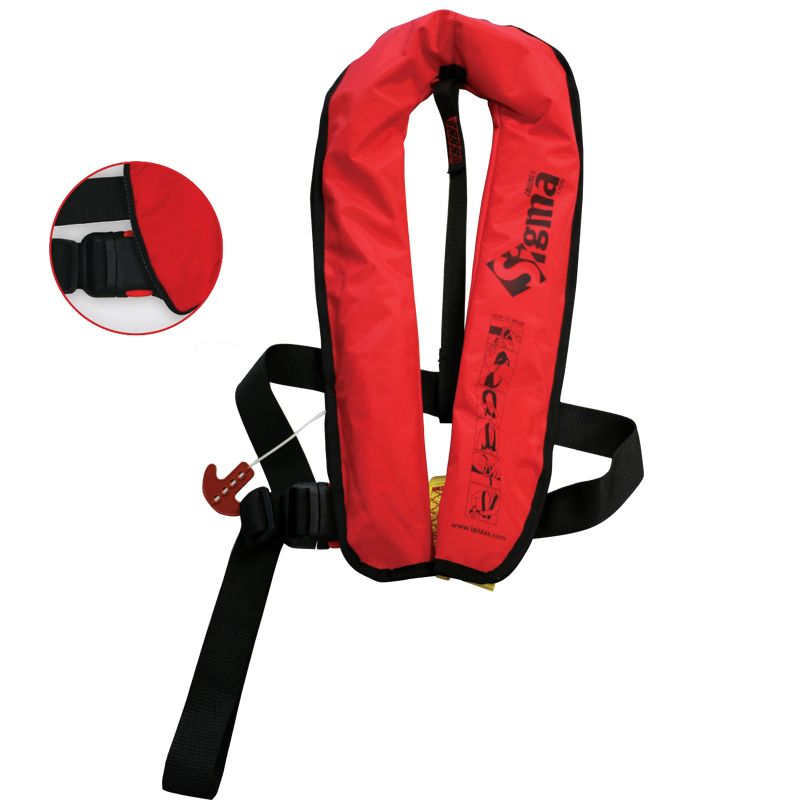 [72560] Sigma Infl.Lifejacket.Auto.Adult.170N,ISO 12402-3,Plastic buckle, Red image