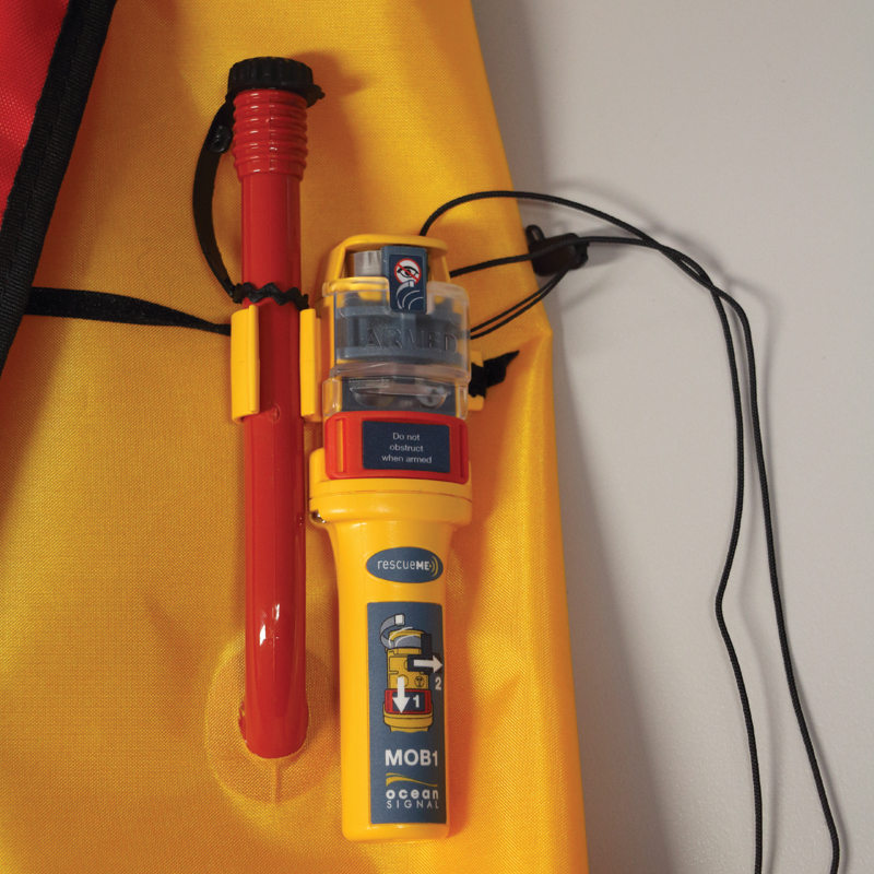 Sigma Inflatable Lifejackets Auto, 170N, ISO 12402-3 with Ocean Signal MOB1, set thumb image 3