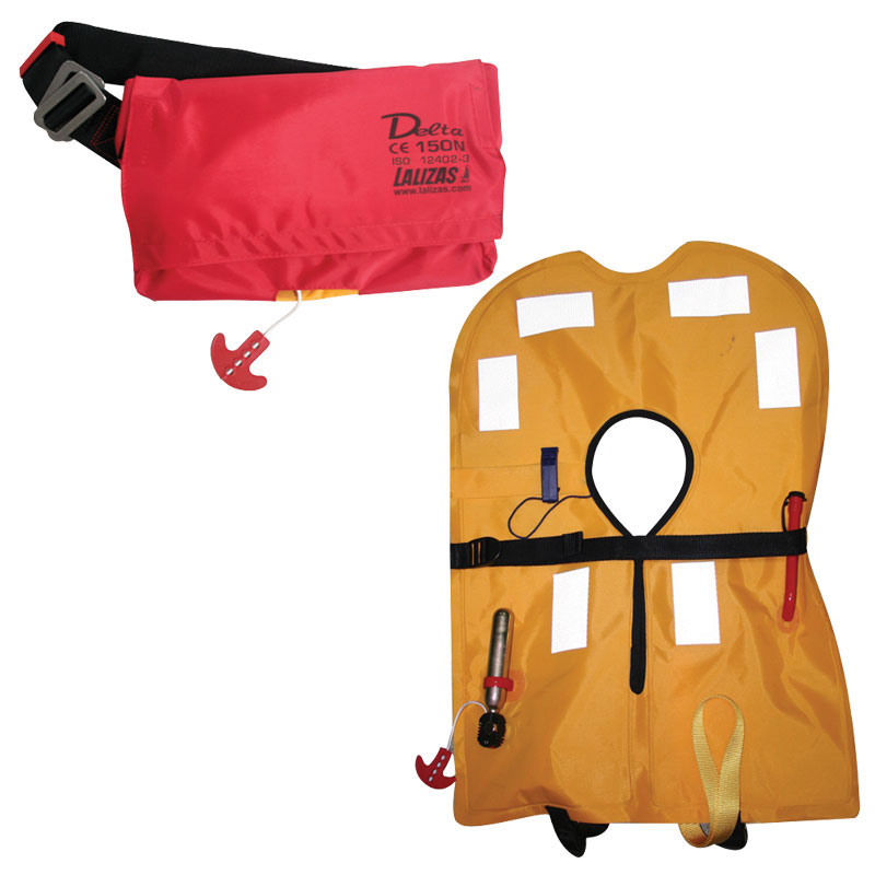Delta Inflatable Lifejacket Belt-Pack, 150N, ISO 12402-3 thumb image 2