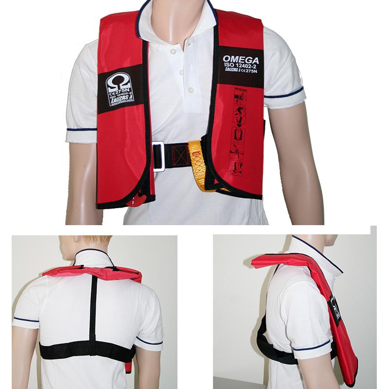 Omega Inflatable Lifejacket 290N, ISO 12402-2 thumb image 2