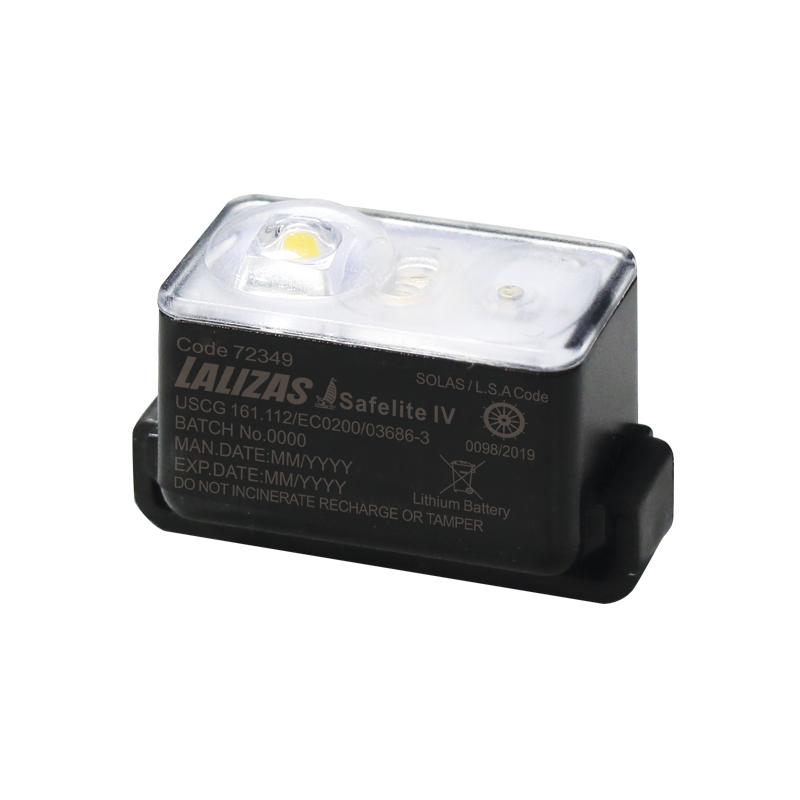 "LALIZAS Lifejacket LED flashing light ""Safelite  IV"" ON-OFF water activated, USCG, SOLAS/MED image"