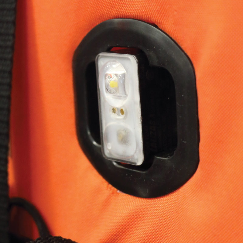 "LALIZAS Lifejacket LED flashing light ""Safelite  IV"" ON-OFF water activated, USCG, SOLAS/MED thumb image 2"