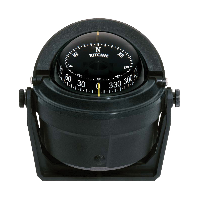 Compass Voyager B-81, w/,bracket mount,black image