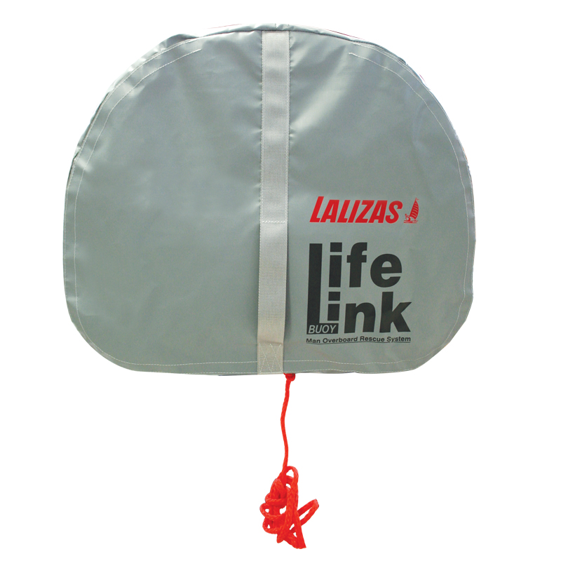Set Horseshoe Lifebuoy 'Quick RD' orange, Lifeb. Light 71325, 30m rope, case gray image