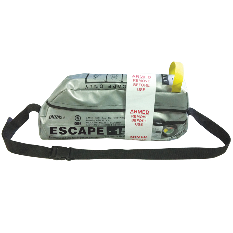 """LALIZAS Emergency evacuation Breathing device""""ESCAPE-15"""""" image"