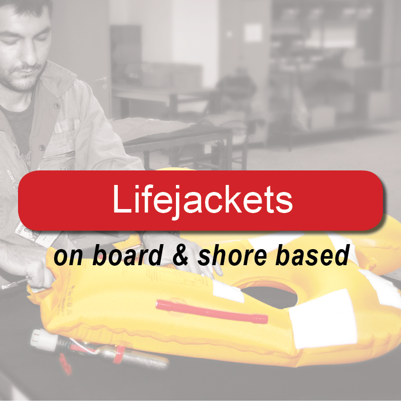 Lifejackets - on board & shore based image