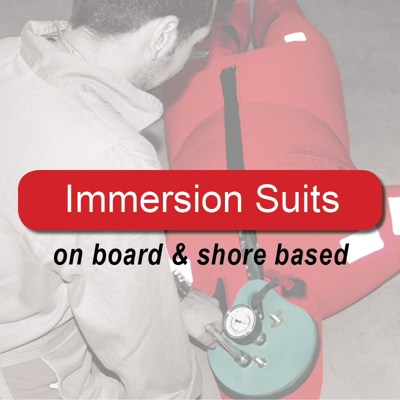 Immersion Suits - on board & shore based image
