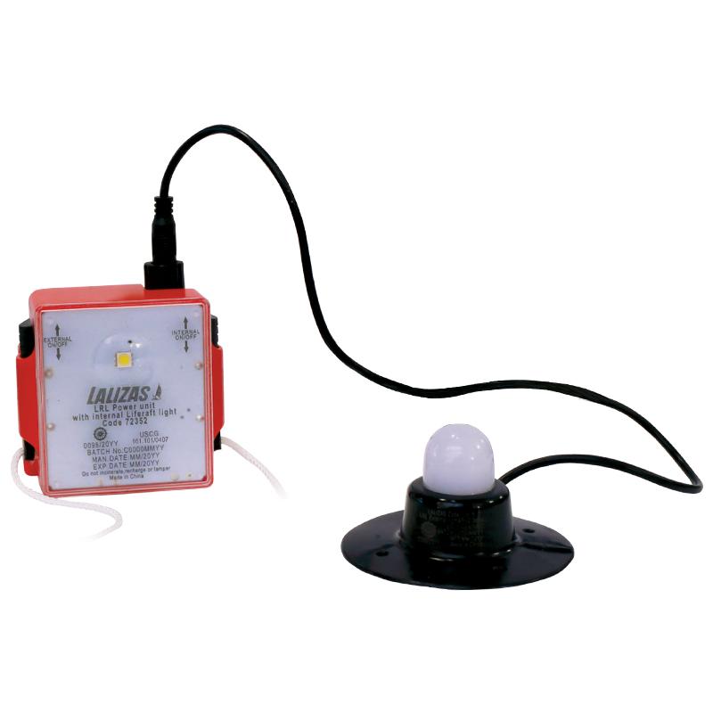 LALIZAS LRL External & Internal Liferaft Light, SOLAS/MED/USCG image