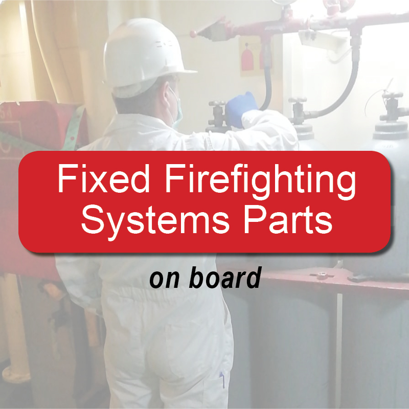Fixed firefighting systems parts - on board image