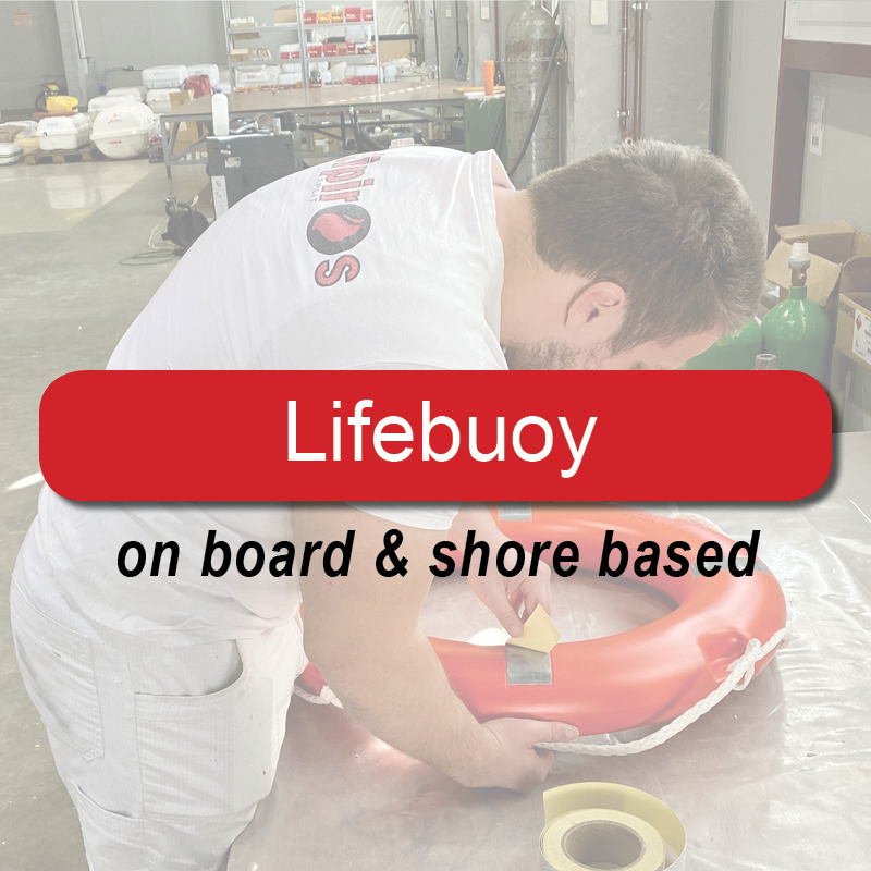 Lifebuoy - on board & shore based image