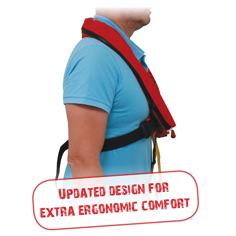 Sigma Inflatable Lifejacket 170N,  ISO 12402-3 thumb image 1