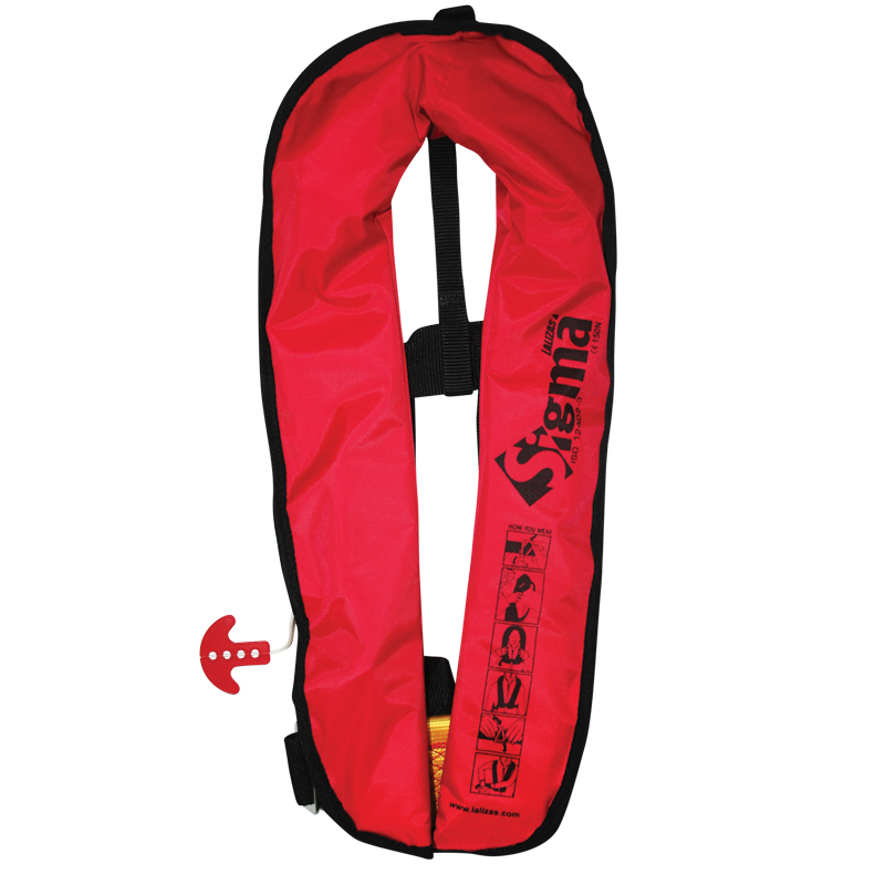 Sigma Inflatable Lifejacket 170N,  ISO 12402-3 thumb image 2