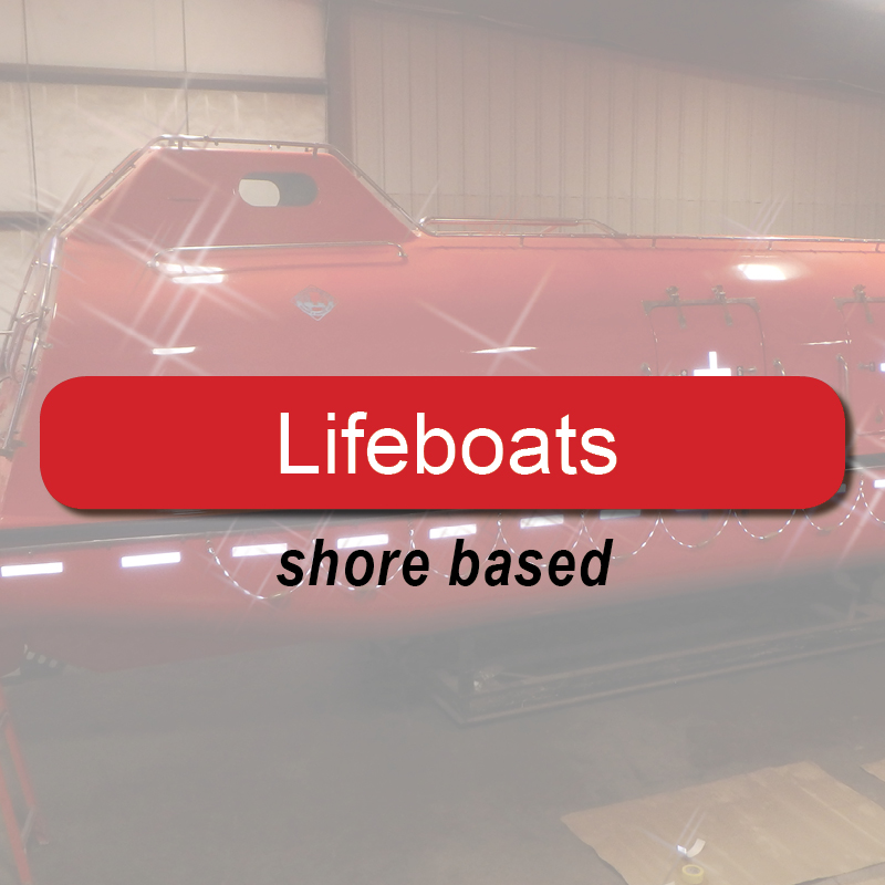Lifeboats - shore based image