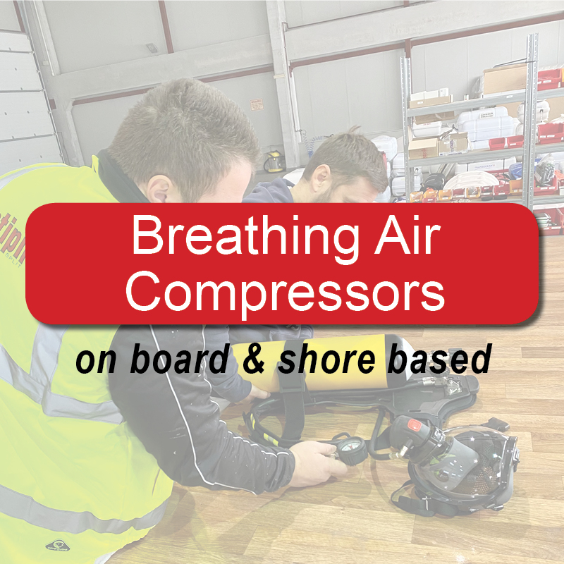 Breathing air compressors - on board & shore based image
