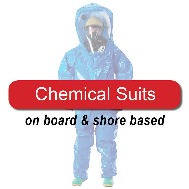 Chemical suits - on board & shore based image