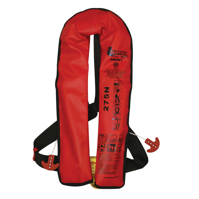 Lamda, Inflatable Lifejacket, SOLAS image
