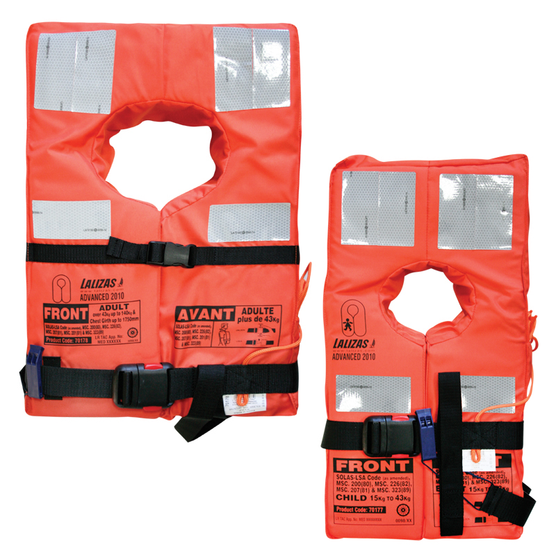 Advanced Lifejacket SOLAS-(LSA Code) 2010 image
