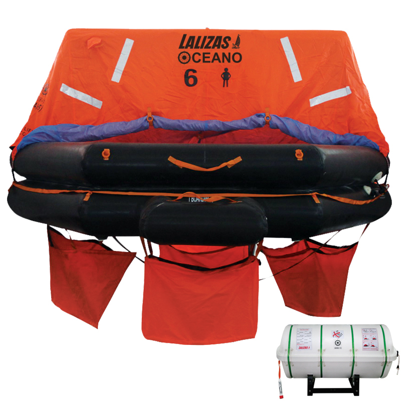 Liferaft SOLAS OCEANO, Throw Over-board image