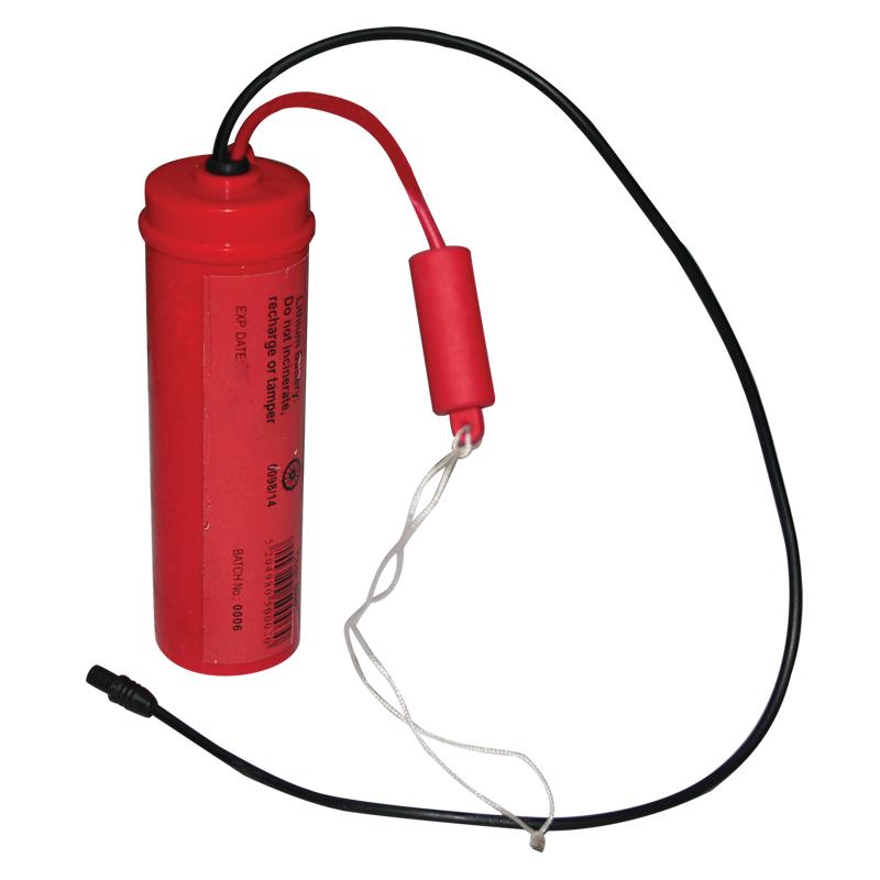 Lithium Battery for Liferaft Lights, 6V, SOLAS/MED, USCG image